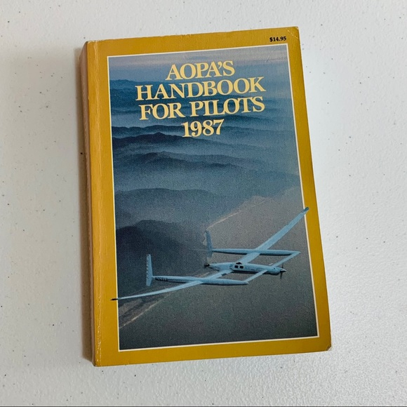 AOPA's Handbook for Pilots 1987. Vintage Book